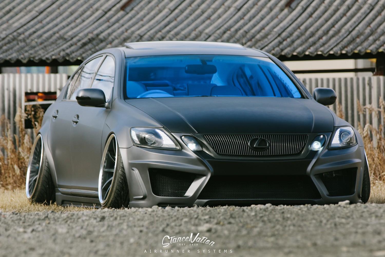 Crazy Lexus Gs Stancenation Form Gt Function
