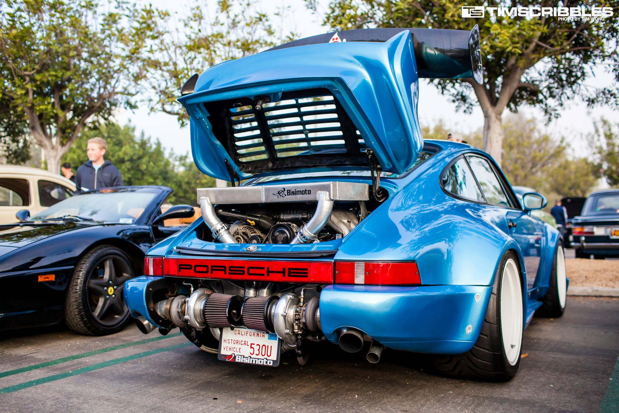 Bisimoto Twin Turbo Porsche 911 Stancenation Form