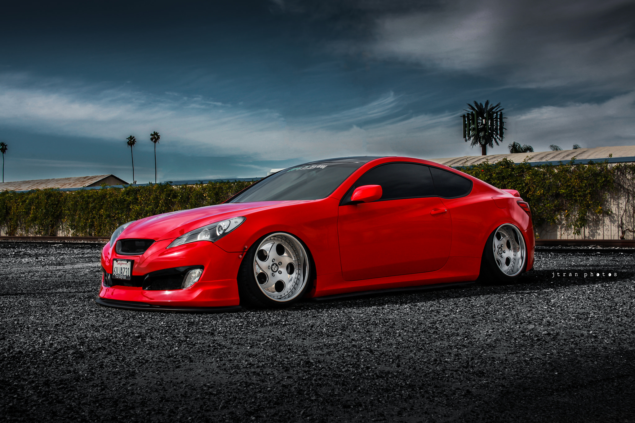 Hyundai Genesis Coupe Sitting Nice Stancenation