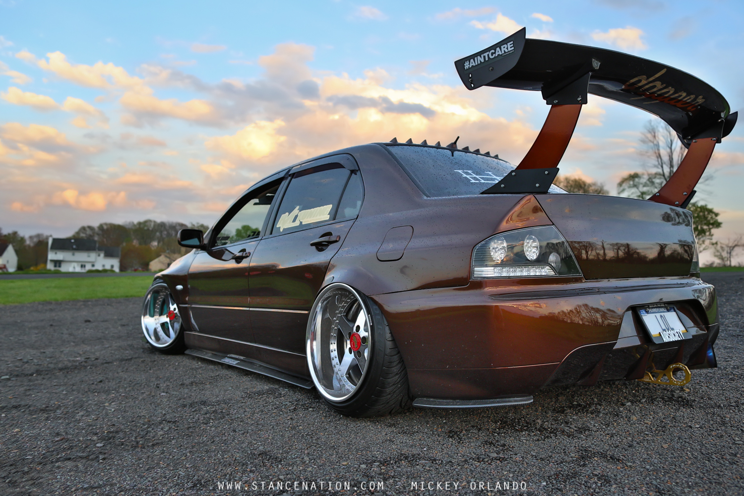 Build A Car >> Complete Package // Mickey's 500+ HP Mitsubishi EVO. | StanceNation™ // Form > Function