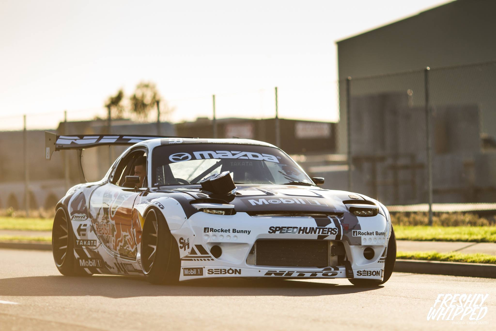 Rocket Bunny Mazda RX7 by Mad Mike. | StanceNation ...
