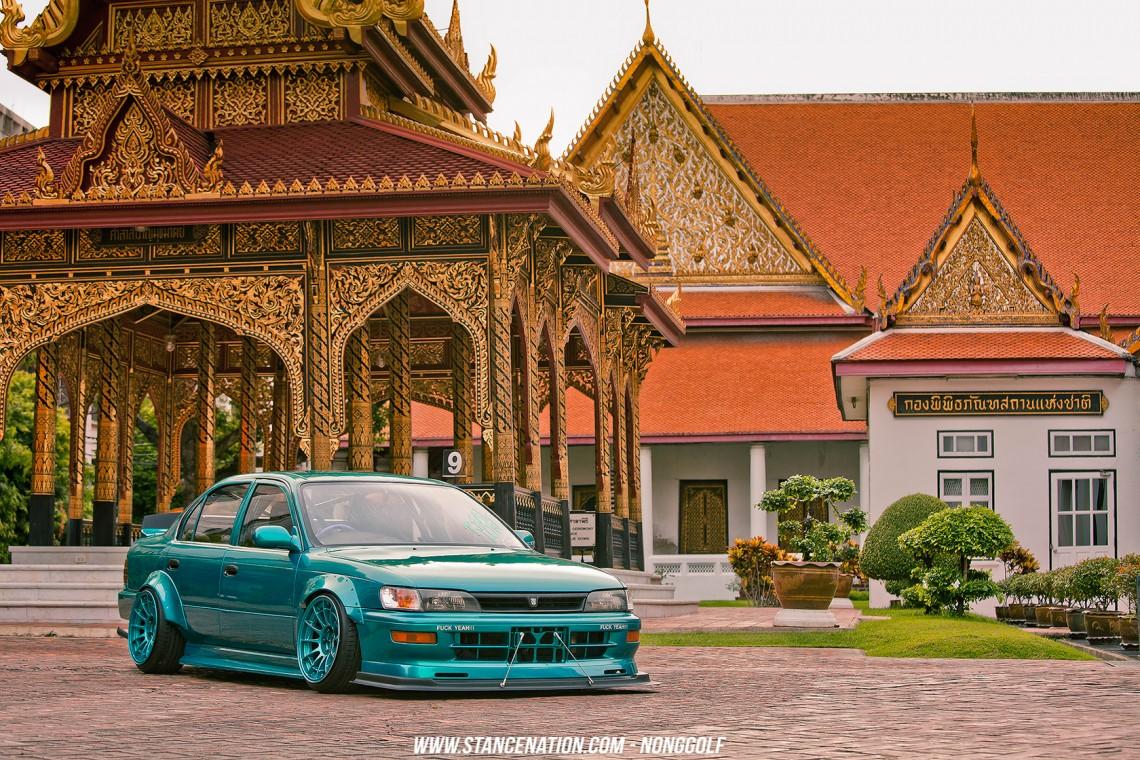 Flush Style Toyota Corolla Thailand -14