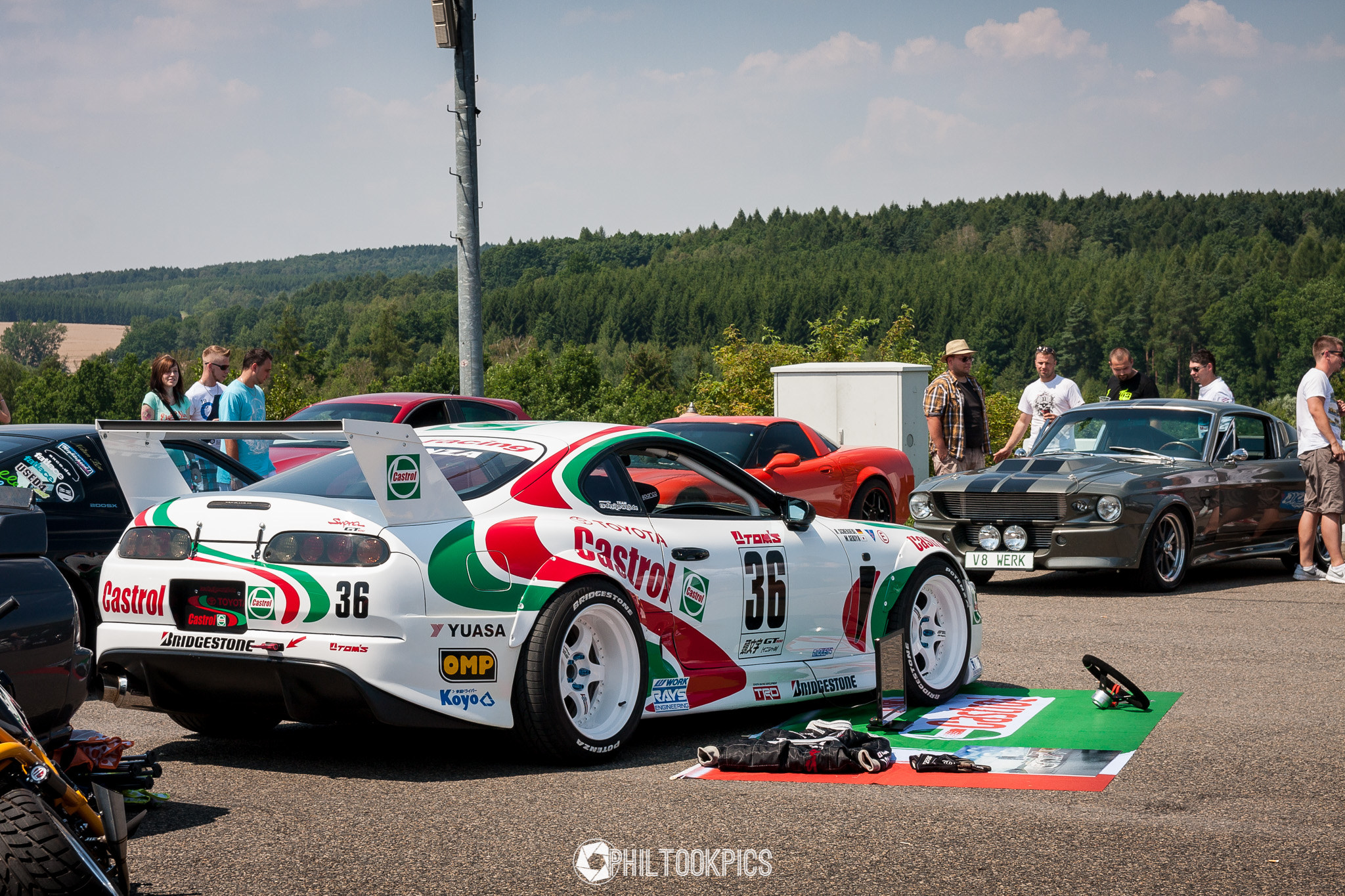 Love The Castrol Livery On This Supra Stancenation