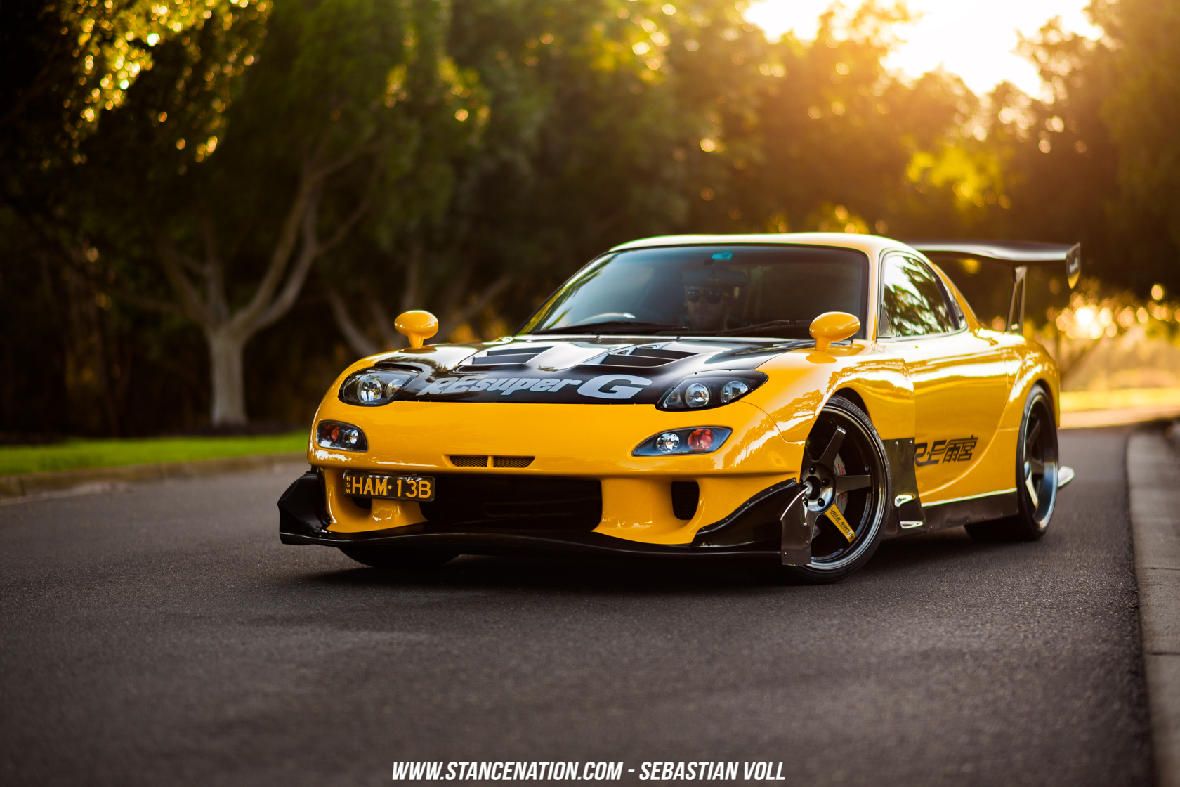 Respect The Legends // Graham's RE-Amemiya FD3S RX-7 ...