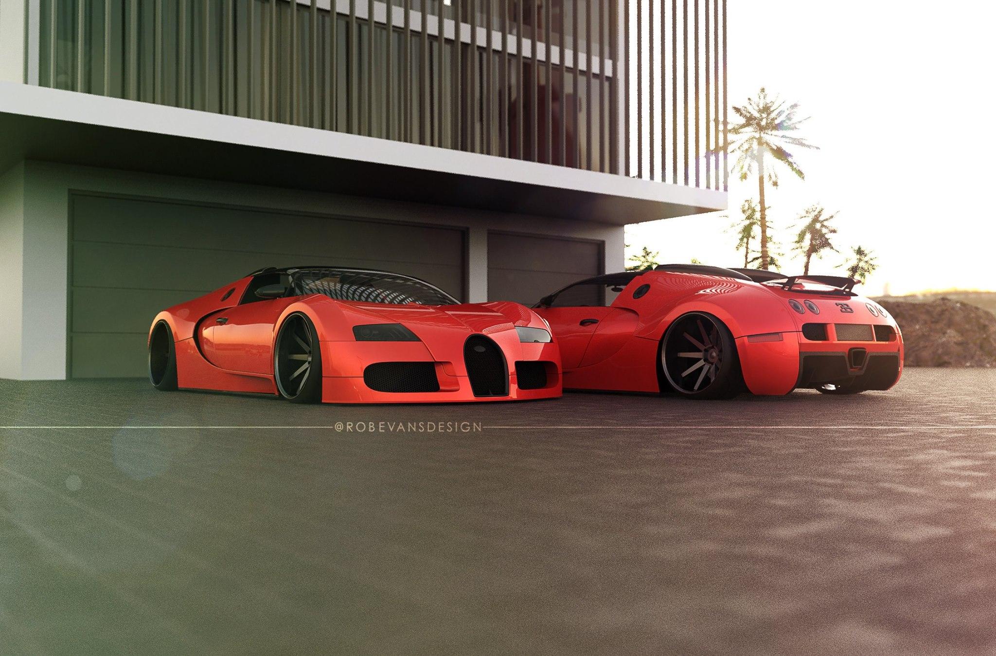 Slammed Bugatti Would Be Crazy Stancenation Form