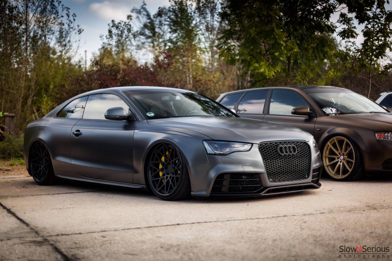 Badass Audi!   StanceNation™ // Form > Function