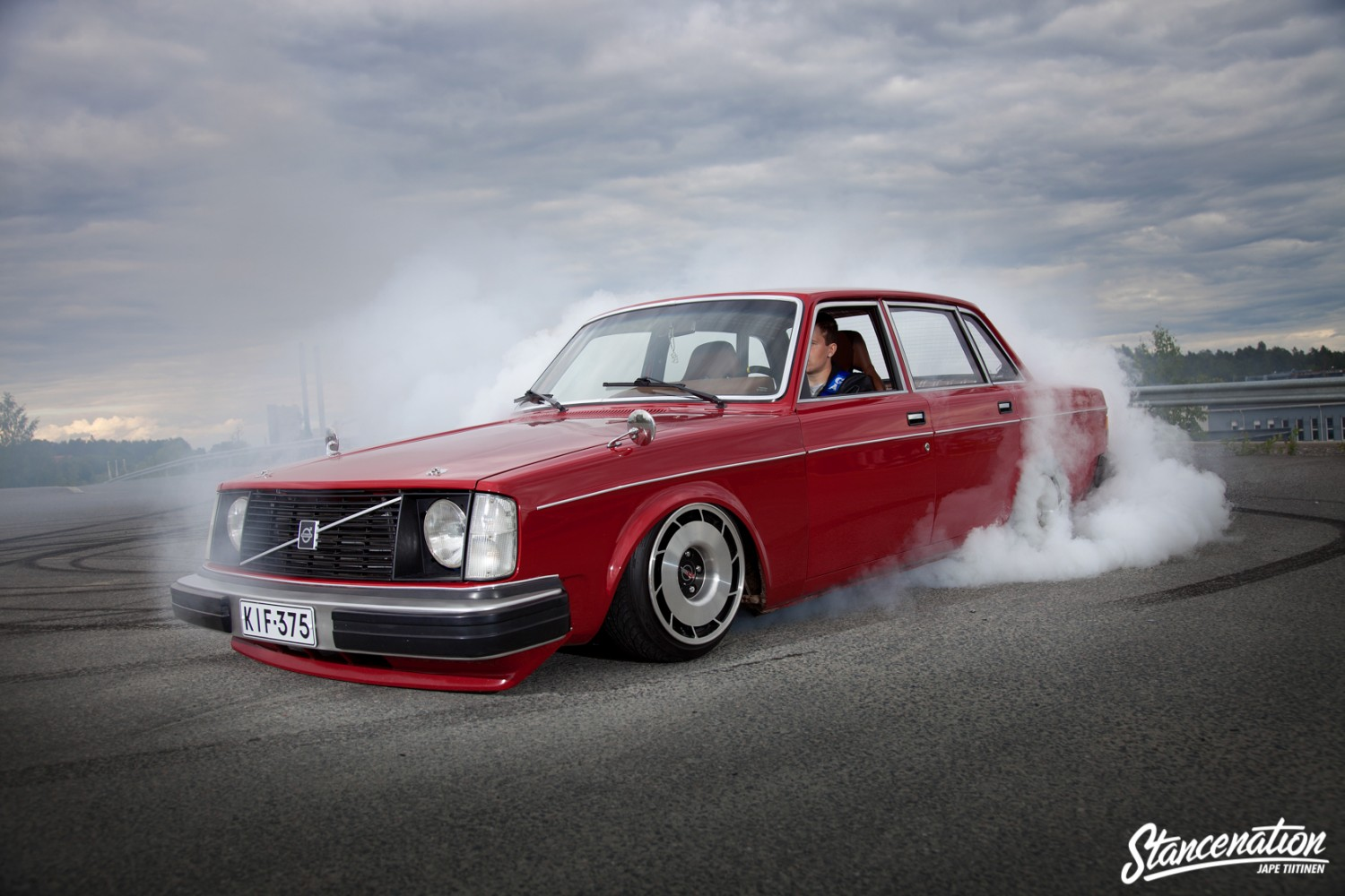 Don T Judge A Book By Its Cover Eemeli S 2jz Swapped Volvo 244 Stancenation Form Function