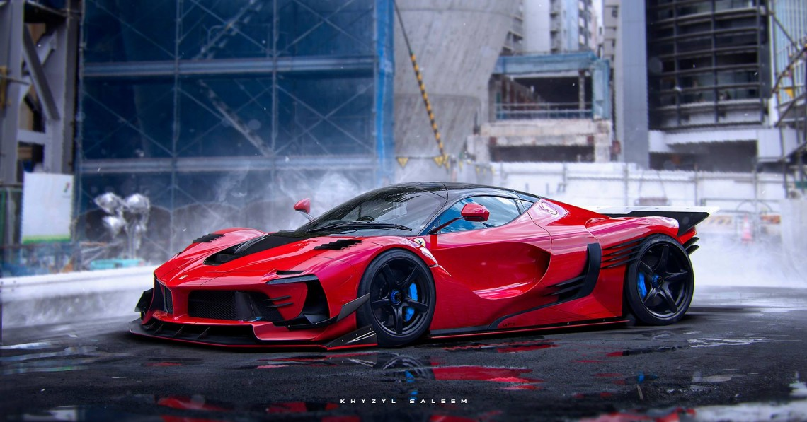 Ferrari Laferrari Fxxk With A Twist Stancenation