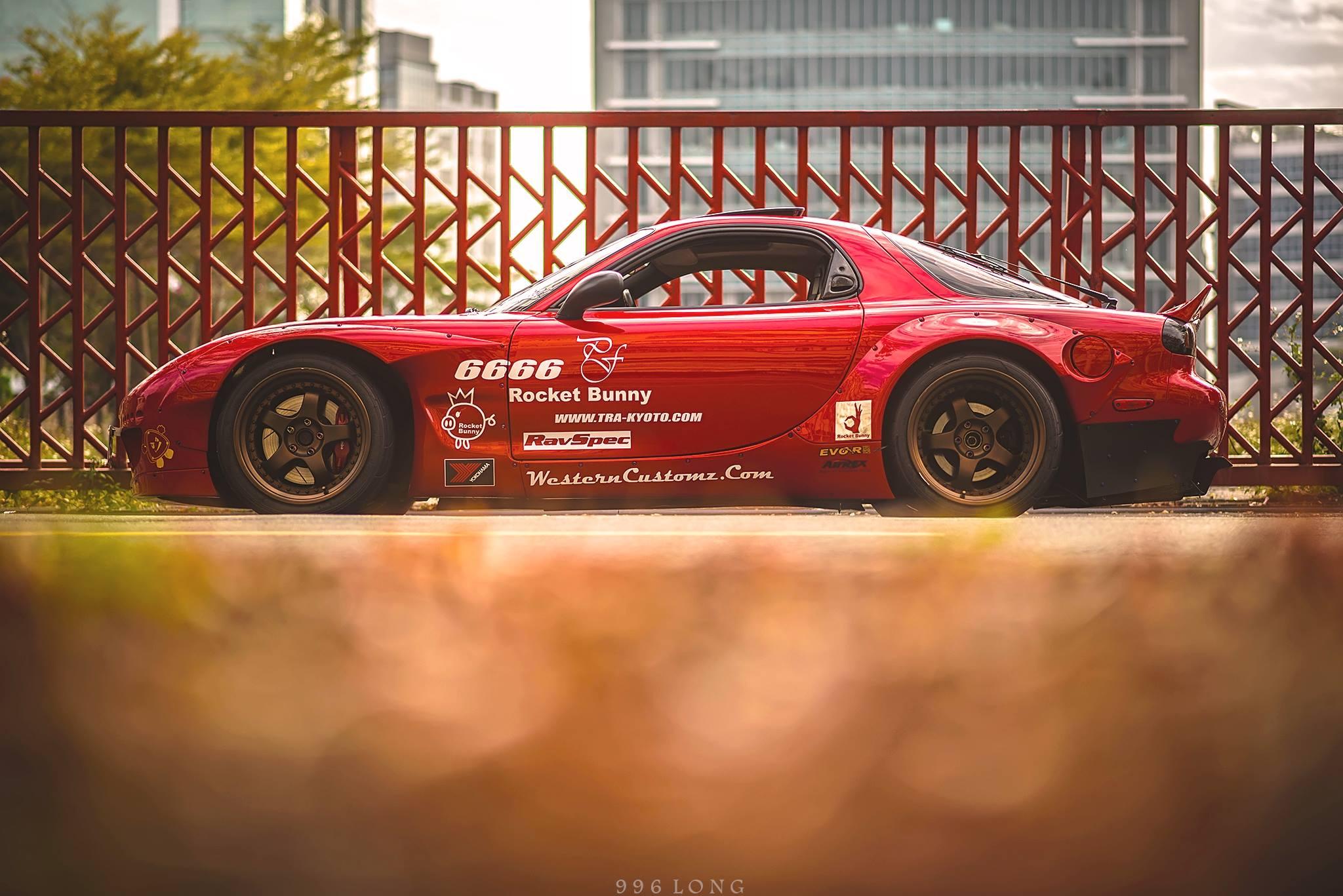 The Rocket Bunny Mazda Rx7 Stancenation Form Gt Function
