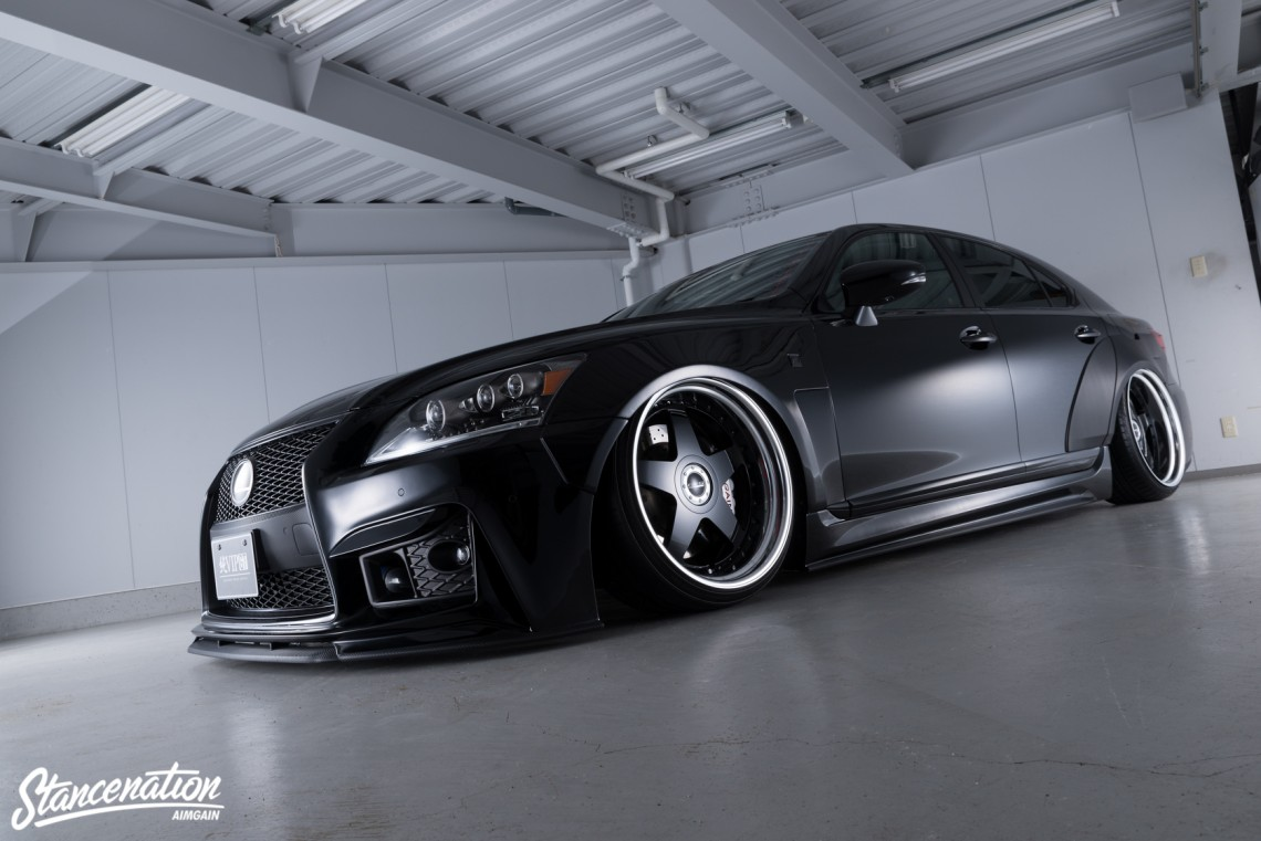 Aimgain Widebody Lexus ISF-11