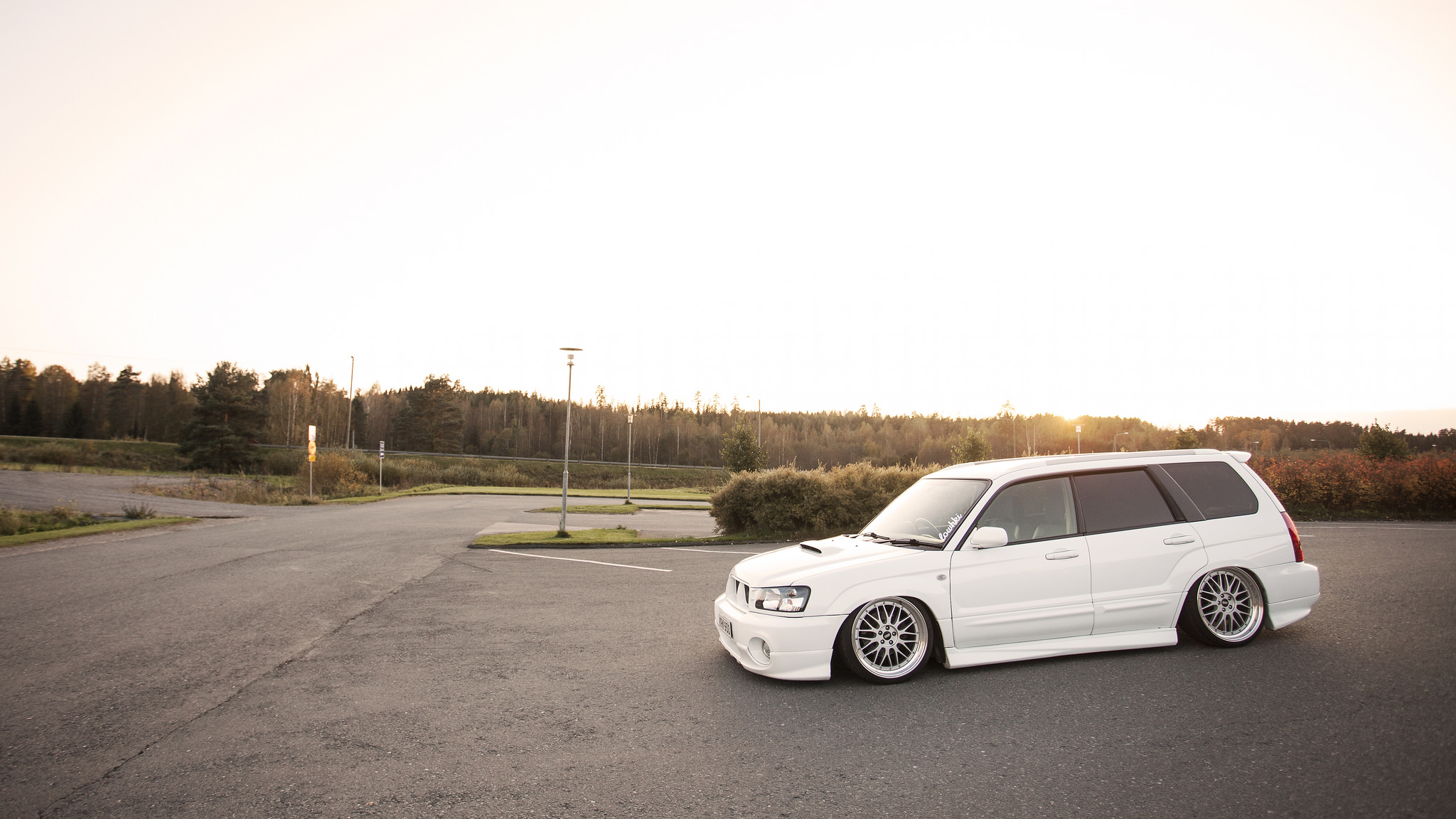 Slammed Forester on BBS'. | StanceNation™ // Form > Function