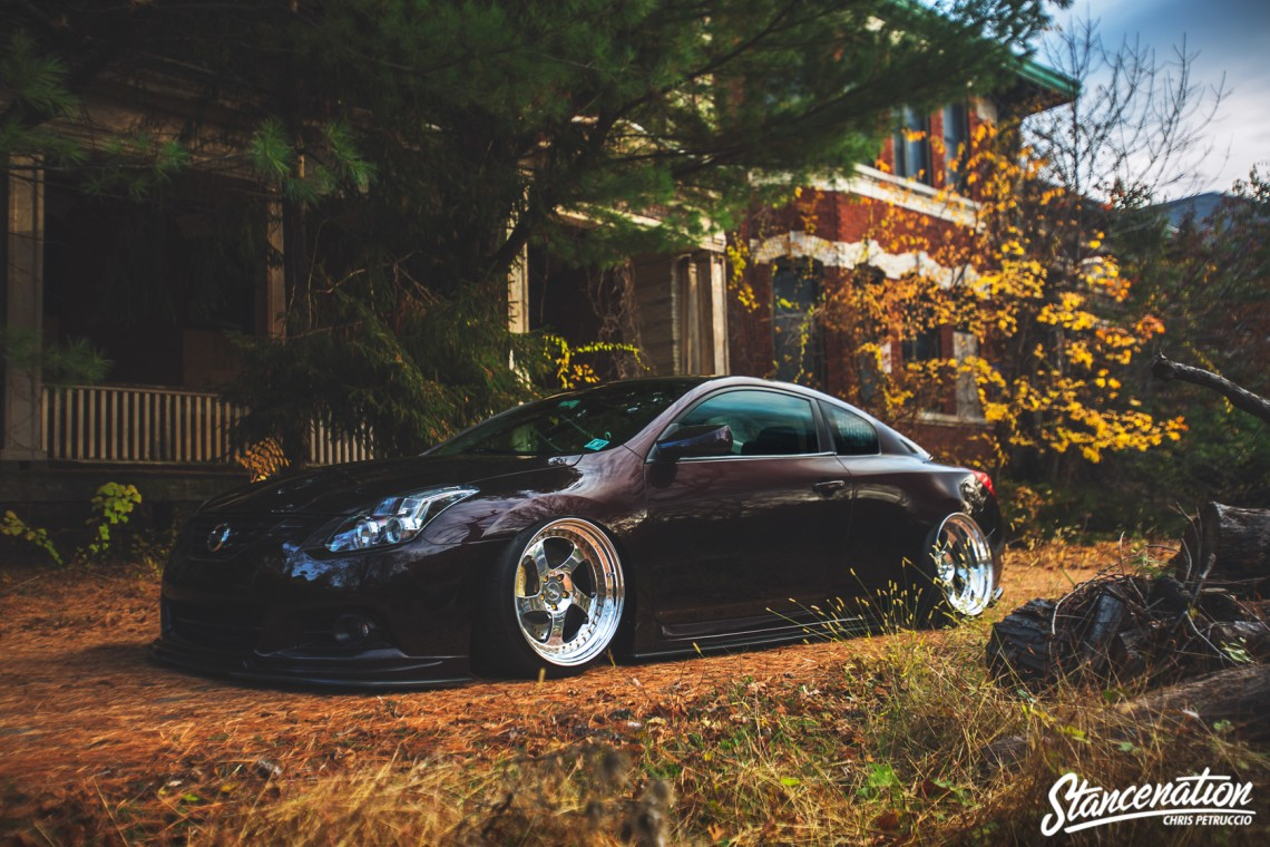 Redefine The Game Tarek S Nissan Altima Coupe