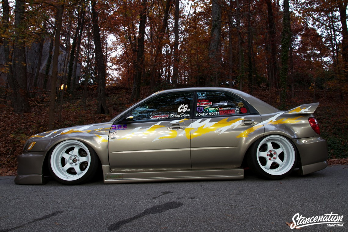 Widebody Subaru STI-13