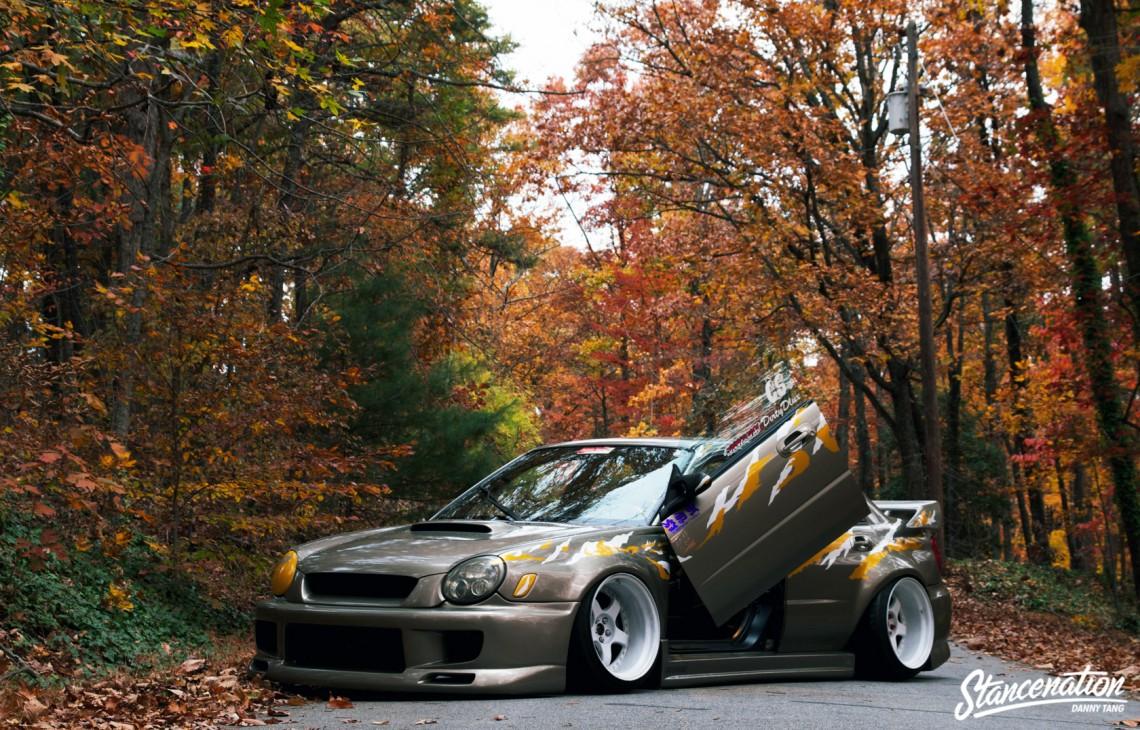 Widebody Subaru STI-9