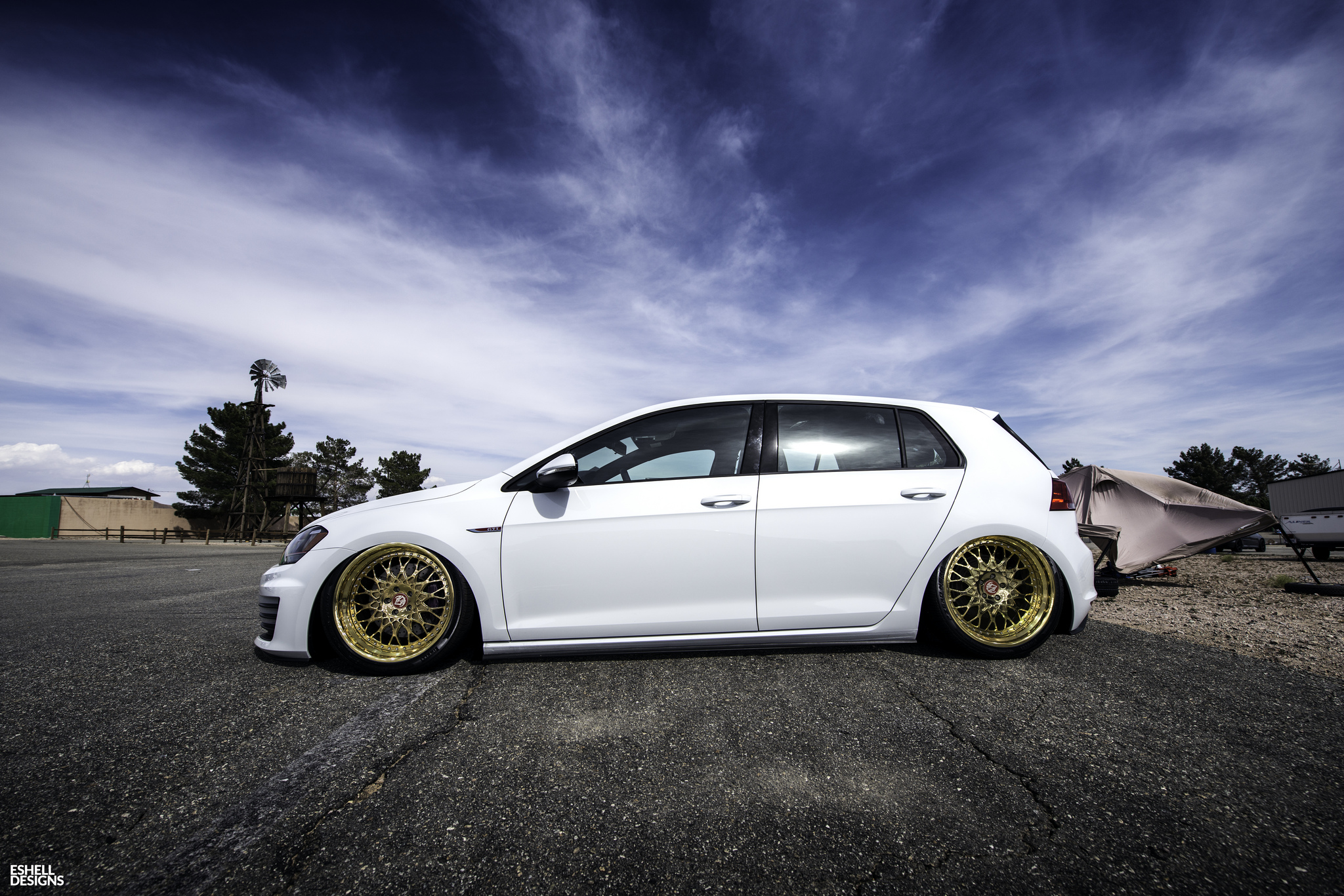 Slammed MK7! | StanceNation™ // Form > Function