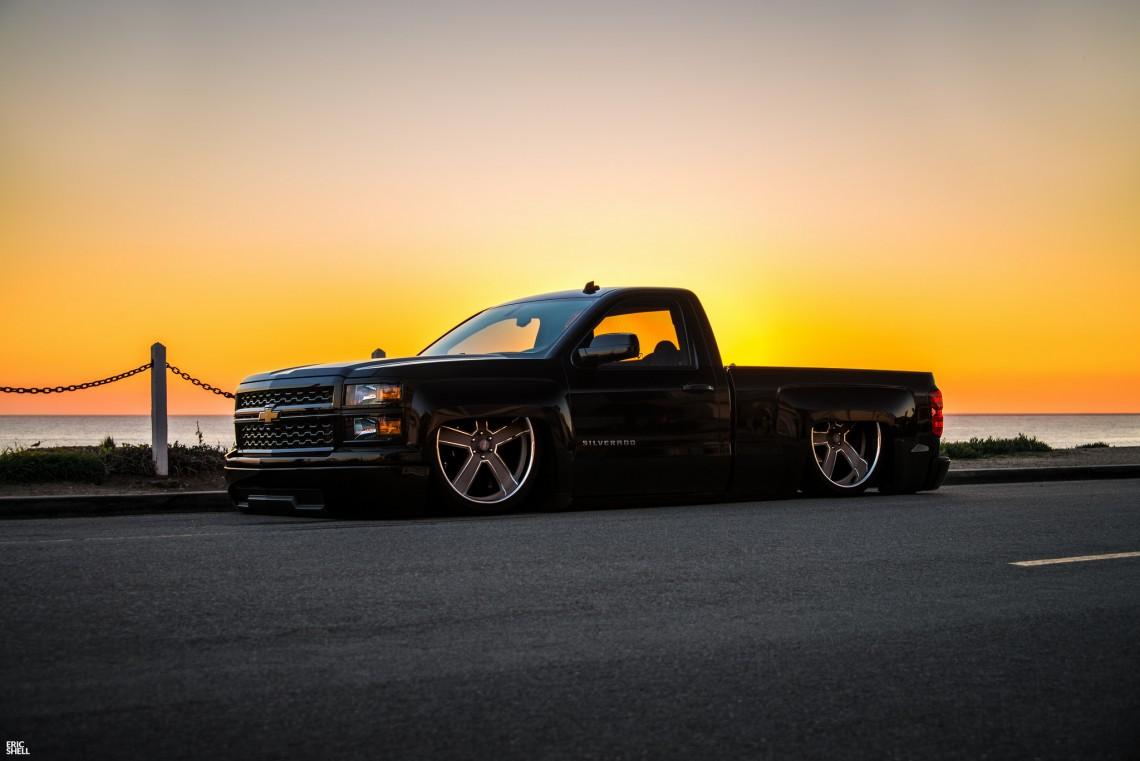 Slammed Chevy Silverado. | StanceNation™ // Form > Function