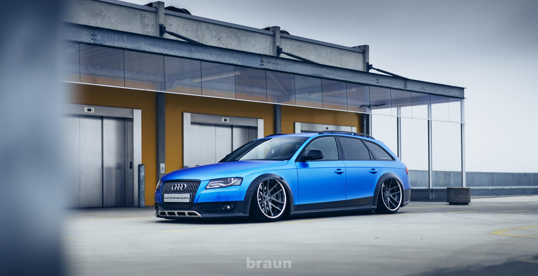 Slammed Audi A4 B8 Allroad Stancenation Form Gt Function