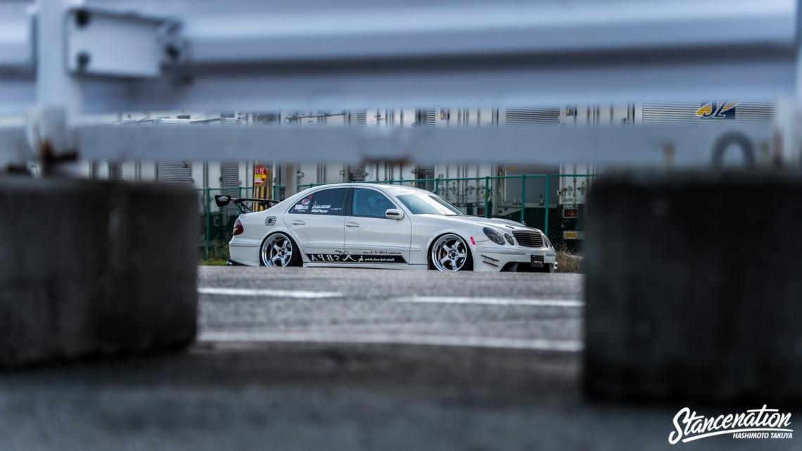 Aggressive Mercedes Benz E Class-6