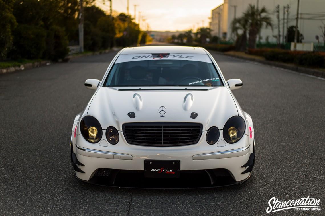 Aggressive Mercedes Benz E Class-8