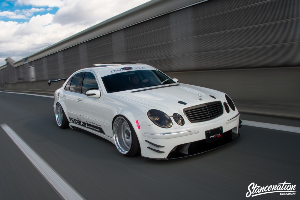 Mean Mercedes Benz E Class-9