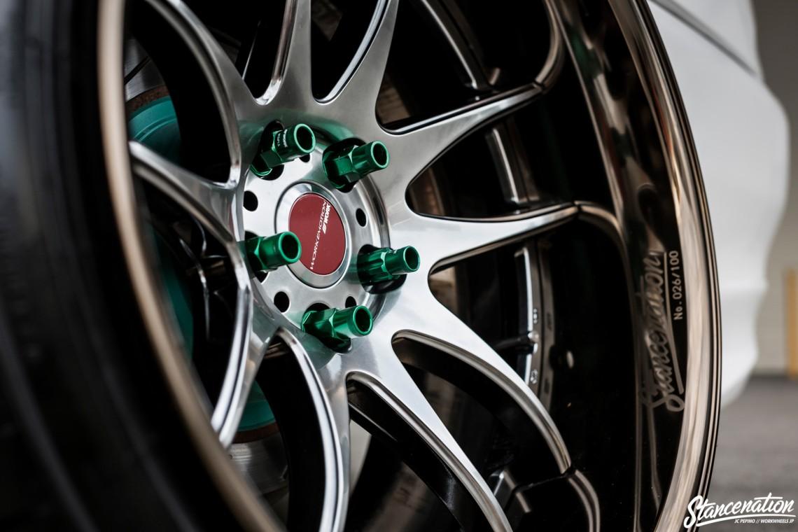 StanceNation CR2P Work Wheels Toyota JZX100-13