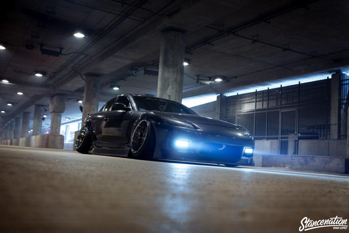 Stanced Mazda RX8-11