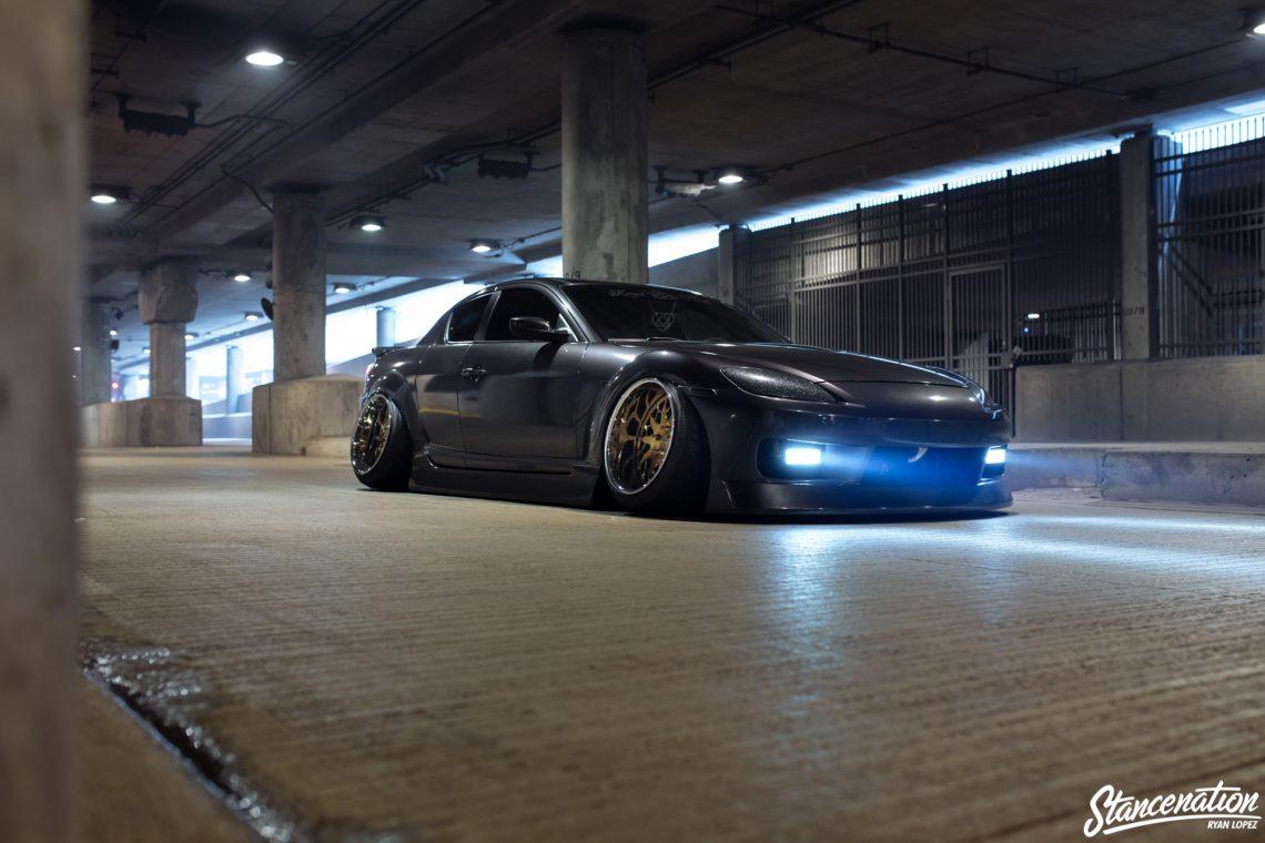 Stanced Mazda RX8-12