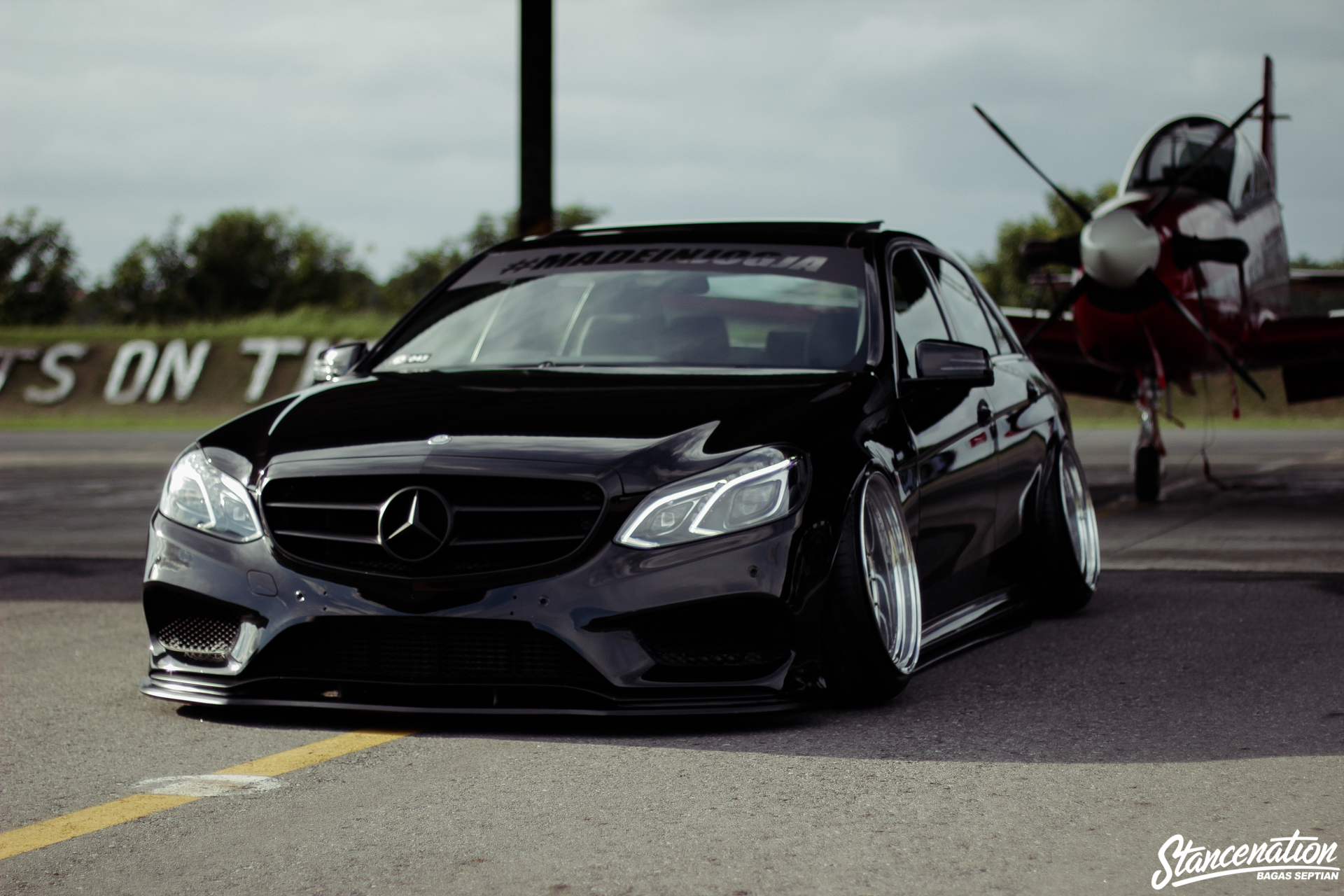 Staying the Course // Chandra Kenzo's Mercedes-Benz E250. | StanceNation™ // Form > Function